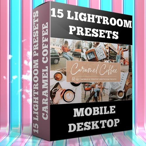 Lightroom Preset Profissional 15 Presets - Caramal Coffee