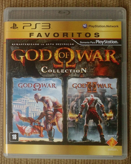 Game Ps3 God Of War Collection - Seminovo