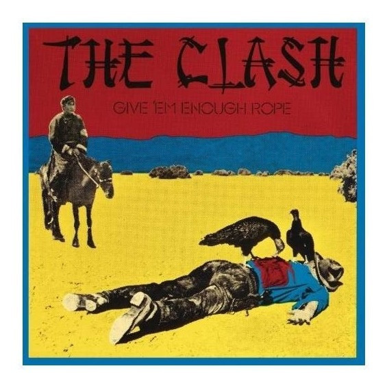 Clash The Give Em Enough Rope Limited Edition 180 Gram V Lp