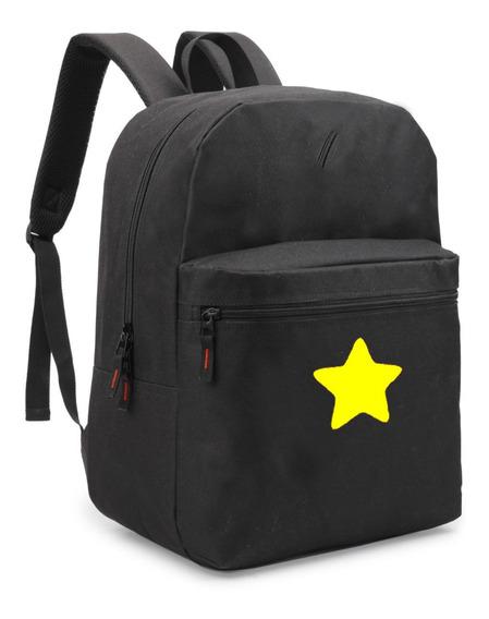 Mochila Steven Univerce Star Desenho Bolsa Escolar Material!