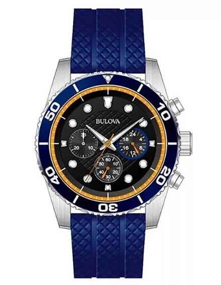 Reloj Bulova Para Caballero Modelo: 98a205 Envio Gratis