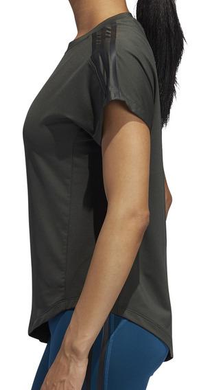 Remera adidas Training Tie Mujer Mi