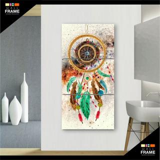 Quadro Decorativo Filtro Dos Sonhos 120x60 3 Peças