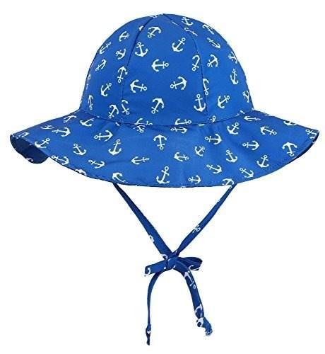 Simplikids Upf 50+ Protección Solar Uv Sombrero De Ala Ancha