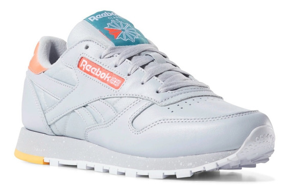 Tenis Reebok Classic Leather Casual, Running, Gym, 23.5 Cm.