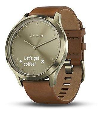 Garmin Vivomove Hr Sport Hibrido Smartwatch Premium S M Dora
