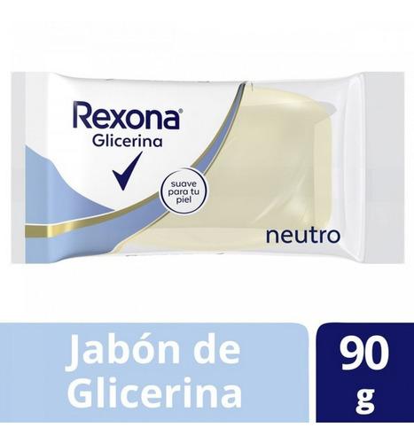 Jabon De Glicerina Rexona 90gr
