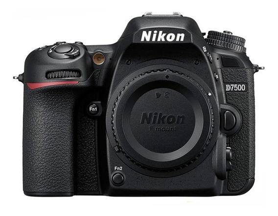 Corpo Nikon D7500 4k 20.9 Mp Wifi 2 Anos De Garantia C/nfe