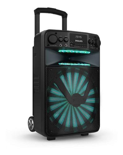 Parlante Portatil Philips Karaoke Bluetooth Luces Tanx50/77
