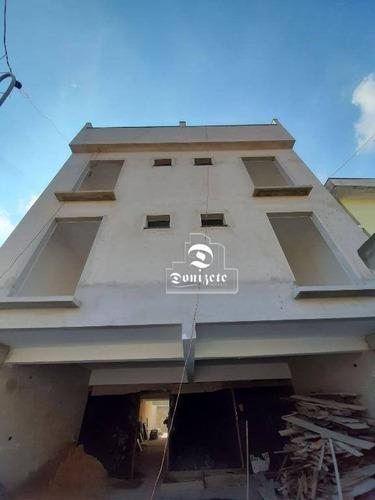Cobertura Com 2 Dormitórios À Venda, 92 M² Por R$ 345.000,00 - Parque Andreense - Santo André/sp - Co11448