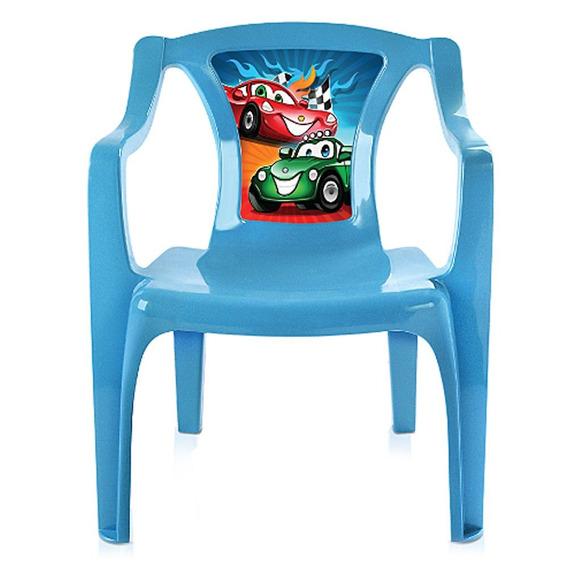 Poltrona Infantil Azul Com Label-arqplast-25235