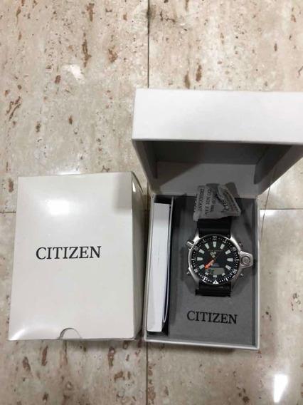 Citizen Aqualand Série Prata Jp2000-08e L Tz10137t