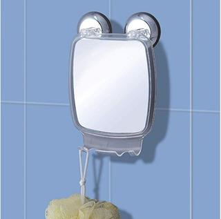 Espejo De Succión Para Baño Afeitarse Rasurarse Envío Gratis