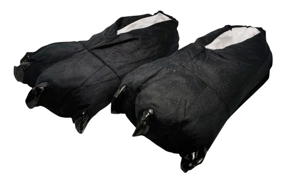 Pantufla Garra Negra Para Pijama Calientitas Unisex