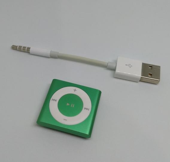 iPod Shuffle 2gb 4 Geração Cabo Verde Usado Parcelado 2f4ry
