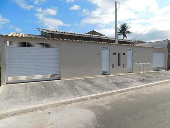 Casa Nova E Térrea À Venda No Estânc. Eucaliptos Em Peruíbe.