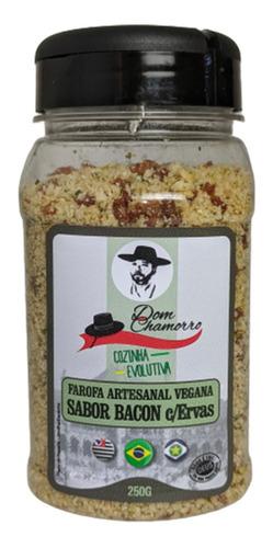 Imagem 1 de 3 de Farrofa Artesanal Vegana Sabor Bacon Dom Chamorro
