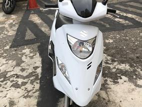 Suzuki Burgman 125i 2017 Branca