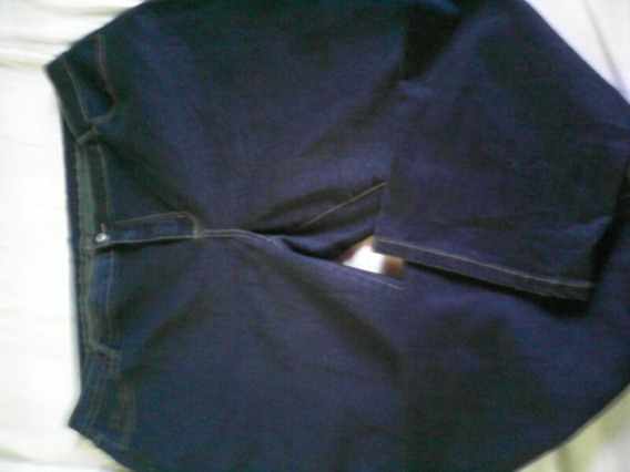 Pantalon Talla Plus Para Dama Azul Marino