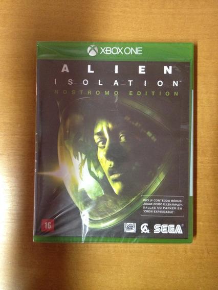 Xbox One Alien Novo Lacrado