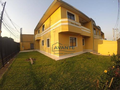 Sobrado Com 3 Dormitórios À Venda, 194 M² Por R$ 750.000,00 - Capão Raso - Curitiba/pr - So0649