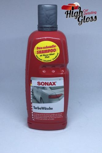 Imagen 1 de 2 de Sonax Shampoo Turbo Wash -1l- Highgloss Rosario