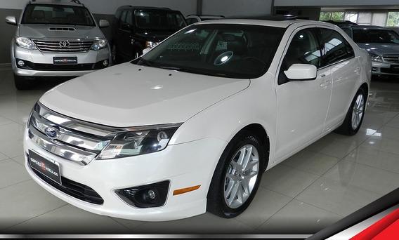 Ford Fusion Sel 2.5 Automático Top Com Teto E Branco Revisad