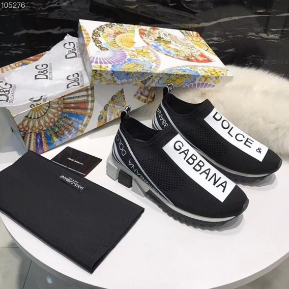 Tênis Dolce & Gabbana Sorrento Preto