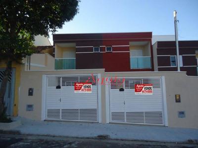 Sobrado Com 2 Dormitórios À Venda, 61 M² Por R$ 350.000 - Parque Das Nações - Santo André/sp - So0769