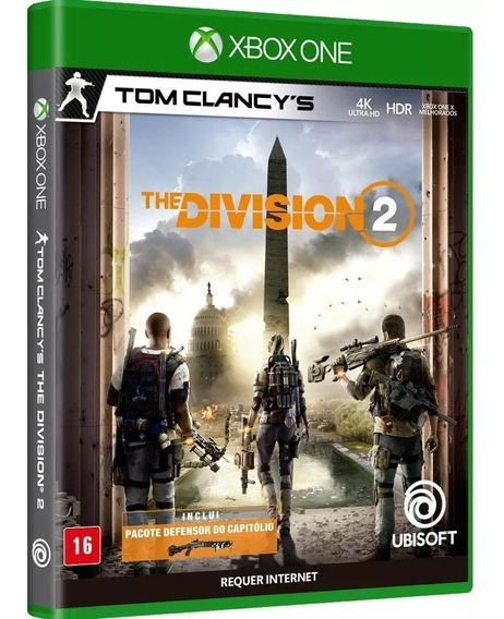 The Division 2 Xbox One - Mídia Física - Lacrado - Nacional - Rj