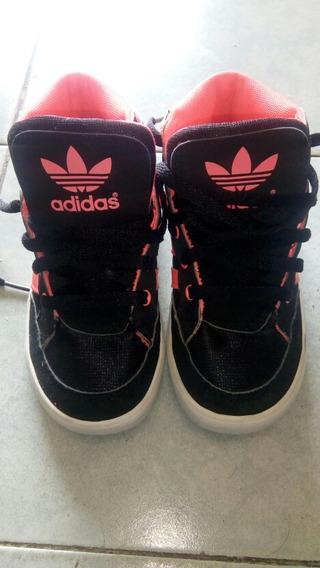 Zapato adidas De Niña Talla 27 Usado