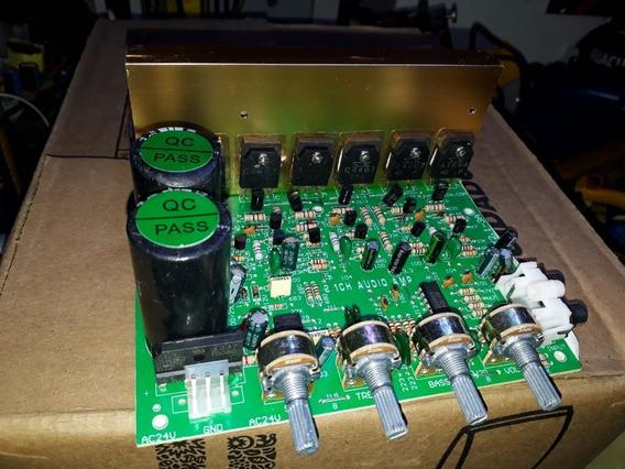 Placa Amplificador 100w X 2 Mais 100w - Sub