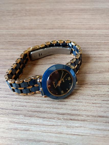 Relógio Dumont Saab Safira D685am - Db2835