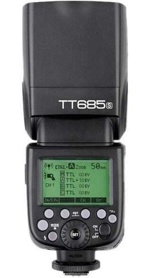 Flash Godox Tt685 Para Sony + Rebatedor + Difusor
