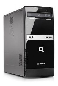 Cpu Intel Compaq Core 2 Duo 2.9ghz 4gb Hd 500gb Win7