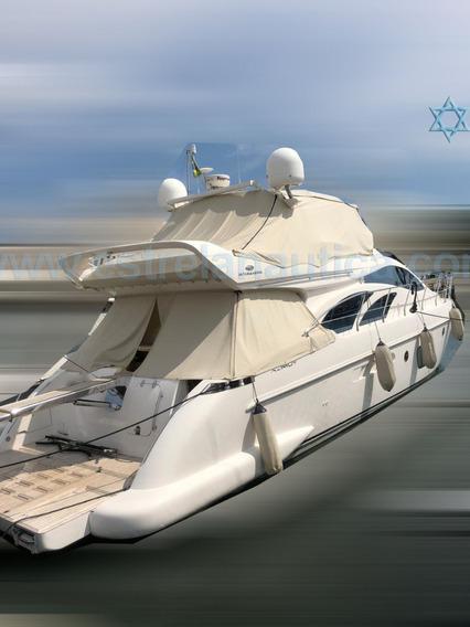 Lancha Intermarine 600 Barco Iate N Cimitarra Phantom Axtor