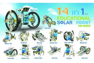 Kit Robotica Solar 13 En 1 Educativo