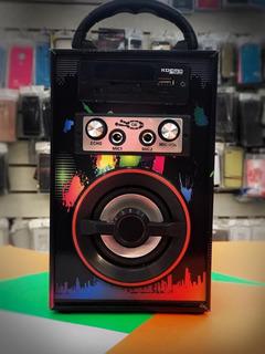 Parlante Portatil Bluetooth Karaoke Mic Pen Drive Sd Fm 325