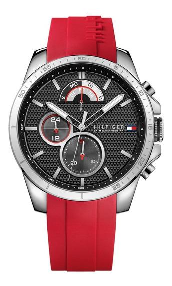 Relógio Tommy Hilfiger Sport Silicone Vermelho 1791351