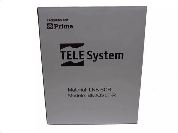 Lnb Scr 4 Tuners + Universal Single Oitv Hd Ses6 Scr