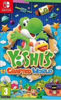 Yoshis Crafted World Switch(nuevo Y Sellado De Fabrica)