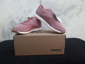 Tênis Reebok Classic Leather Nylon 100% Original Cn6884