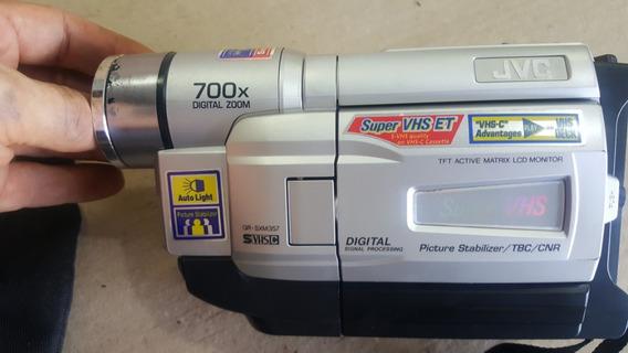 Filmadora Jvc Modelo Gr-sxm357um Zoon 700x (only Wood)