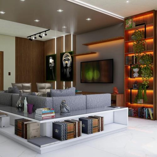 Imagem 1 de 5 de Projeto Arquitetônico E De Móveis