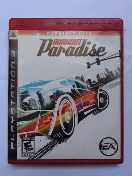 Jogo Burnout Paradise Ps3 Completo Midia Fisica R$45