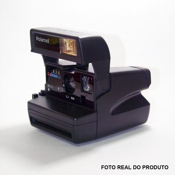 Camera Polaroid 636 Closeup - 100% Ok Com Caixa E Manual