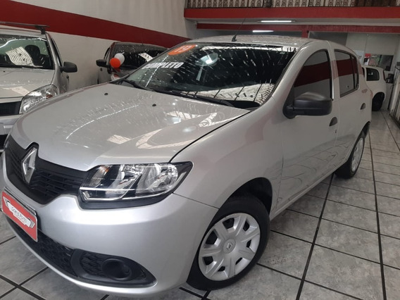 Sandero Authentique 2019 Completo 1.o Flex