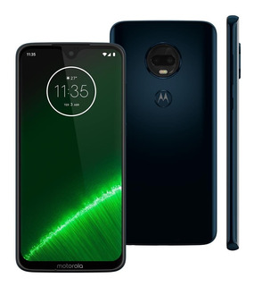 Smartphone Motorola Moto G7 Plus Xt1965 64gb 16mp Índigo