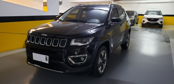 Jeep Compass 2.0 Limited Flex Aut. 5p Baixíssima Km!!