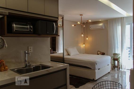 Apartamento Para Aluguel - Santa Cecília, 1 Quarto, 29 - 893117353